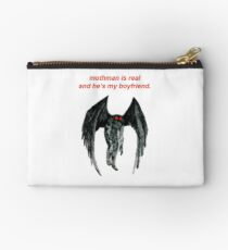 mothman is real and he's my boyfriend. Studio Pouch