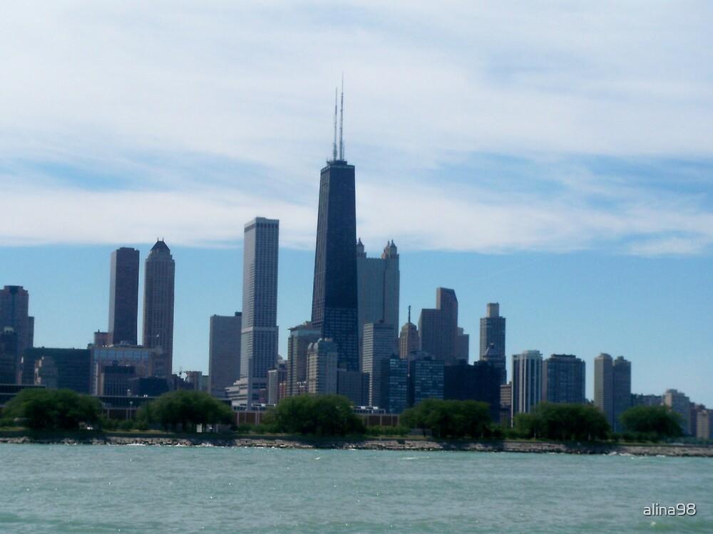 Chicago Skyline by alina98