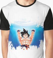 Dragon ball goku splatter Graphic T-Shirt