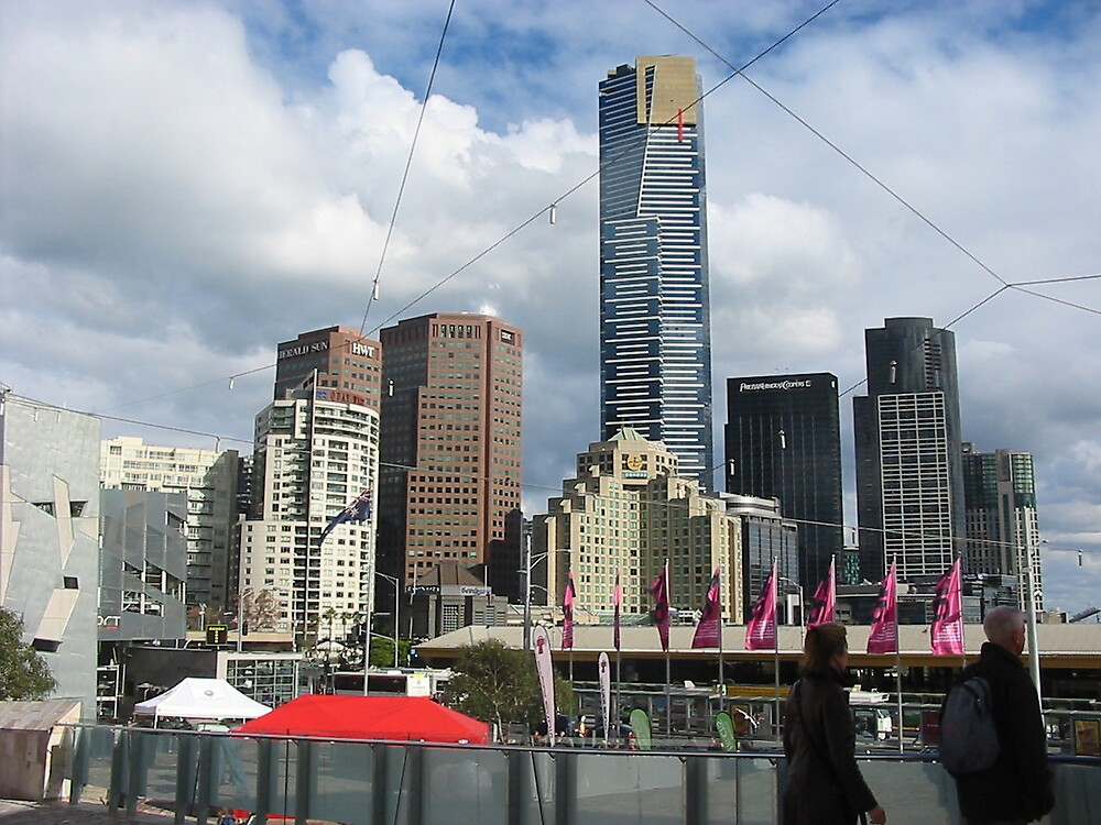 Melbourne city by cailani