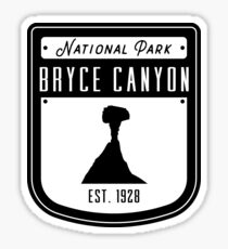 Bryce Canyon National Park Utah Badge II Sticker