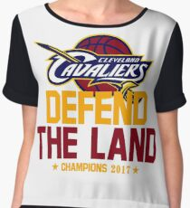 defend the land 2017 Chiffon Top
