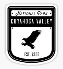 Cuyahoga Valley National Park Ohio Badge Sticker