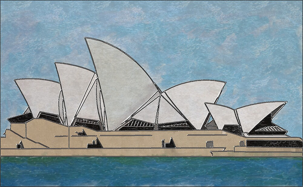 Opera House by Mike Connor