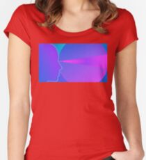 Retro Wave Women's Fitted Scoop T-Shirt