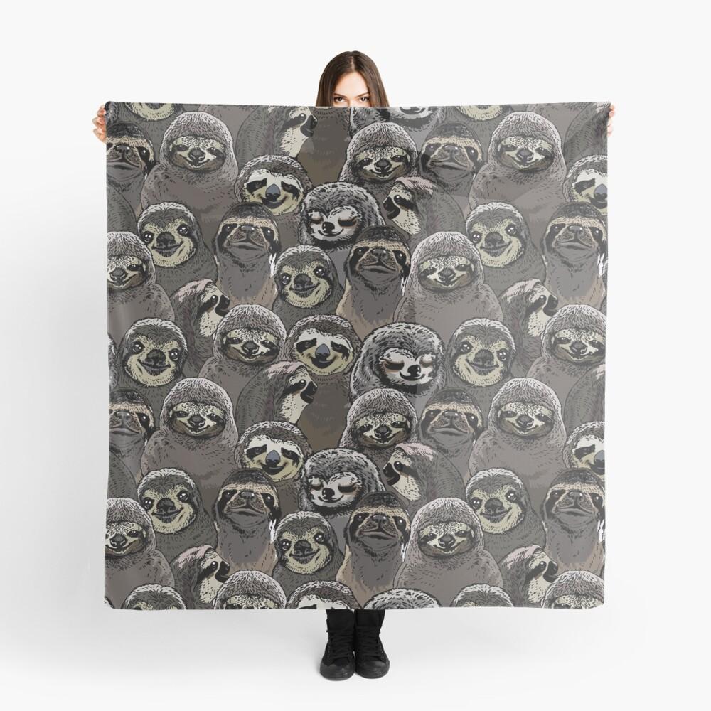 Social Sloths Scarf