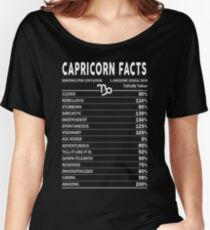 Capricorn Facts Women's Relaxed Fit T-Shirt