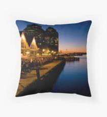 Halifax Waterfront Dusk Throw Pillow
