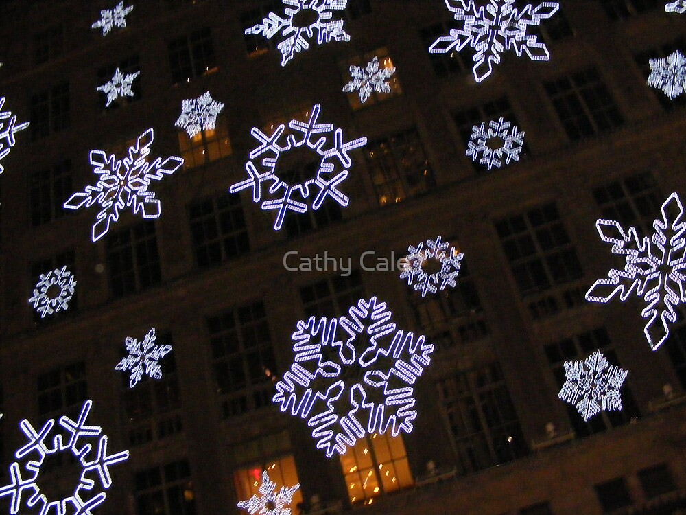 Giant Snowflakes by Cathy Cale