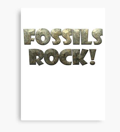 Fossils Rock! Canvas Print