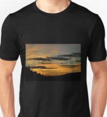 A Lonely Windmill in the Sunset Unisex T-Shirt