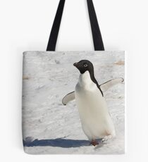 "Adelie Penguin  ~  ""The Dancer"" Tote Bag"