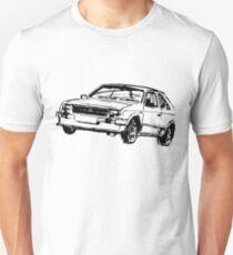Vauxhall Opel Astra drawing Unisex T-Shirt
