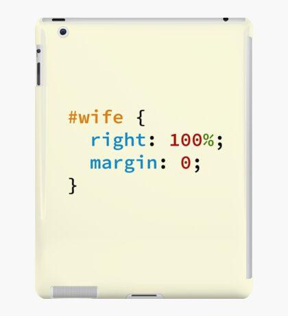 #wife iPad Case/Skin