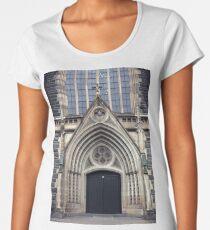 Gothic Doorway Women's Premium T-Shirt