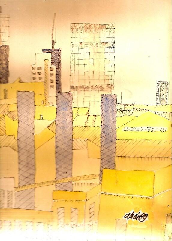 sydney skyline by dharby