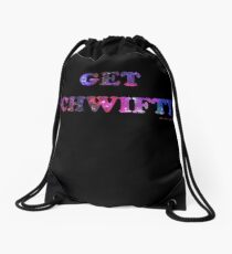 GET SCHWIFTY (I'm Mr. Bulldops) Drawstring Bag
