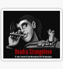 Deadra Strangelove Sticker