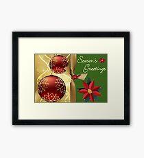 Season Greetings (14523  VIEWS) Framed Print
