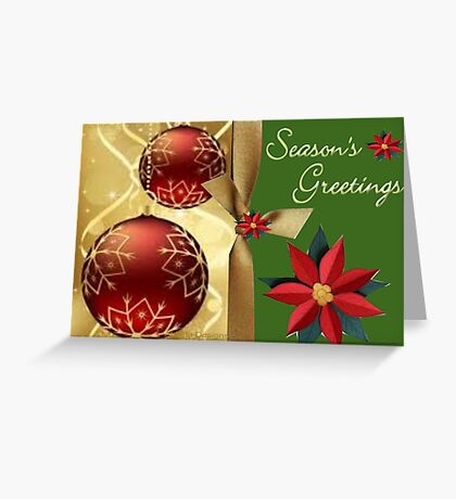 Season Greetings (14495  VIEWS) Greeting Card