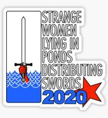 Supreme Executive Power 2020 Sticker