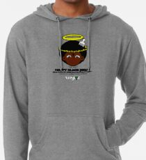 SENATE happy black jesus Lightweight Hoodie