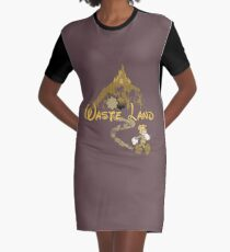 The Happiest Place Left On Earth Graphic T-Shirt Dress