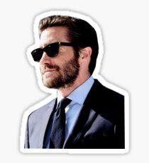 jake gyllenhaal w/ sunglasses Sticker