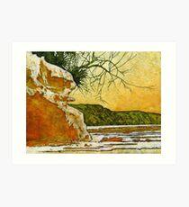 """Angourie She - Oak"" Art Print"