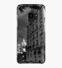 Paris - Montmartre Streetscape 003 BW Case/Skin for Samsung Galaxy