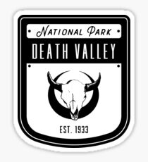 Death Valley National Park California Badge Sticker