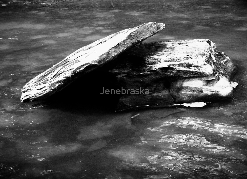 Rocks by Jenebraska