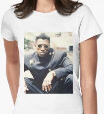 New Jack City Teaser Poster-NENO Womens Fitted T-Shirt