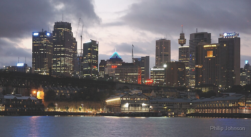 City Awakes - Sydney, Australia by Philip Johnson