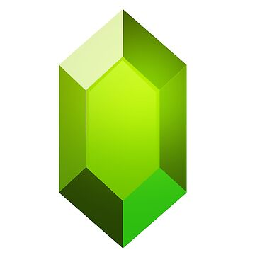 Green Rupee Sticker by TheInternet