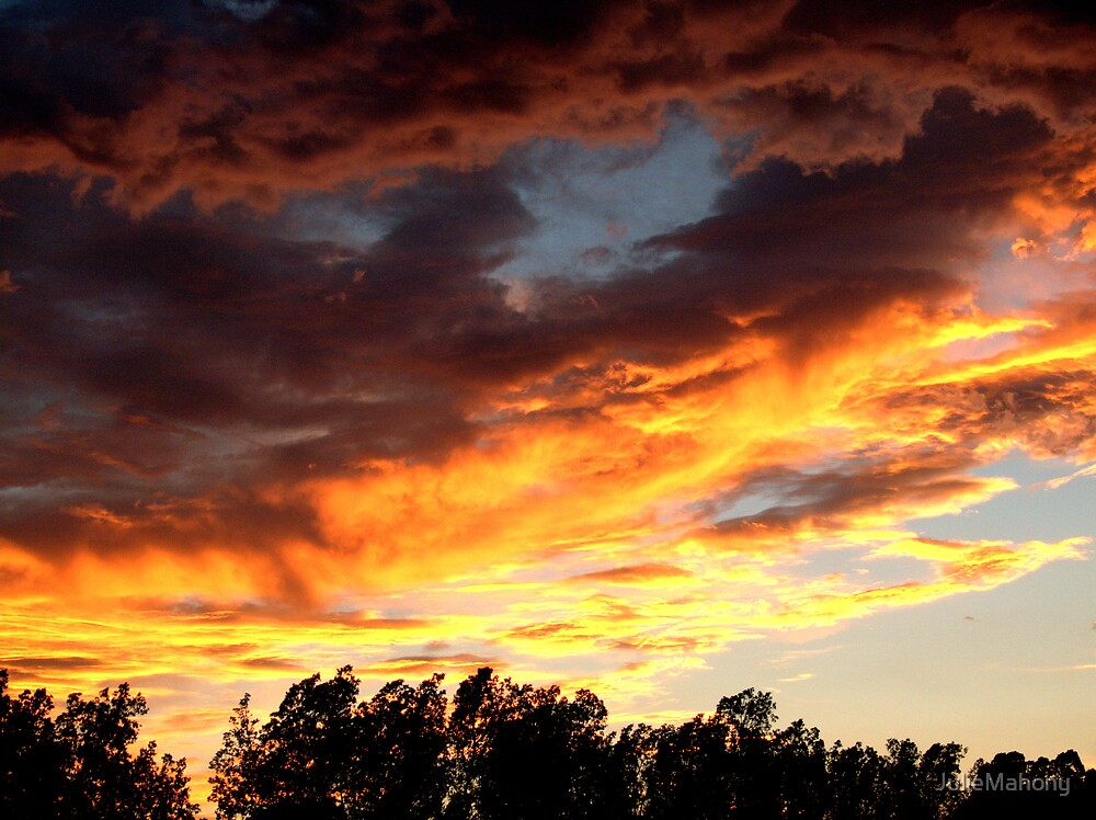 God's Painting by JulieMahony