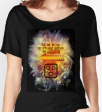 La Ou On Va On N'a Pas Besoin De Route Women's Relaxed Fit T-Shirt