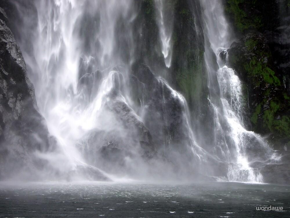 Misty Milford Sound by wondawe