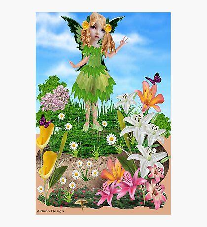 Cute Fairy    (521 Views) Photographic Print