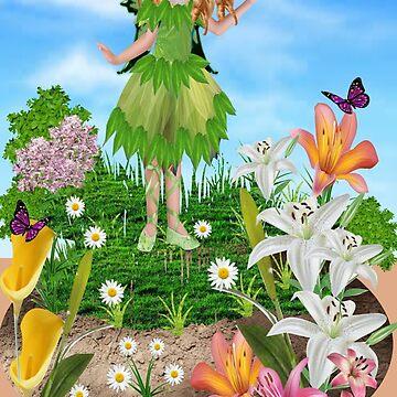 Cute Fairy    (535 Views) by aldona