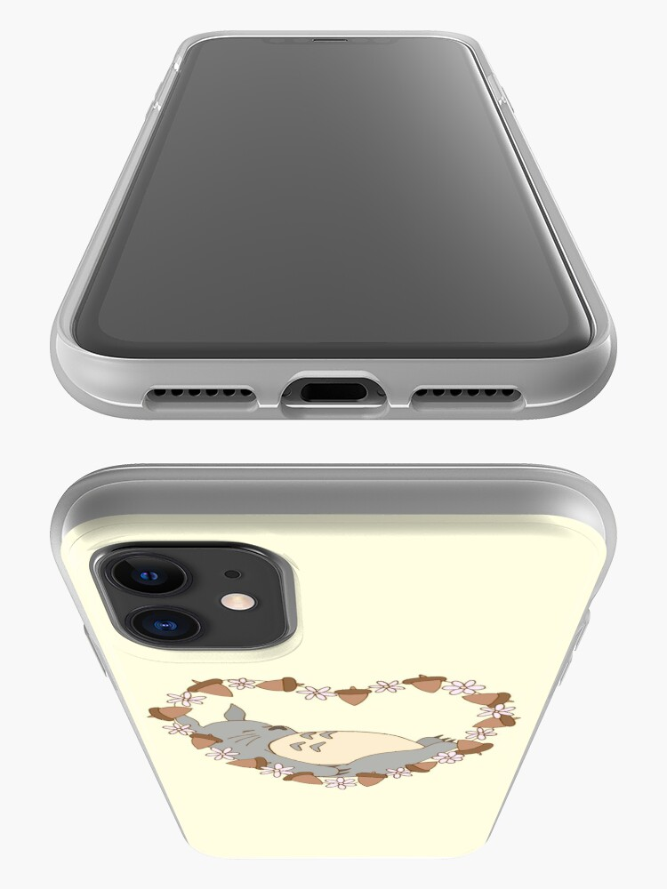 Alternate view of Sleeping Totoro iPhone Case & Cover