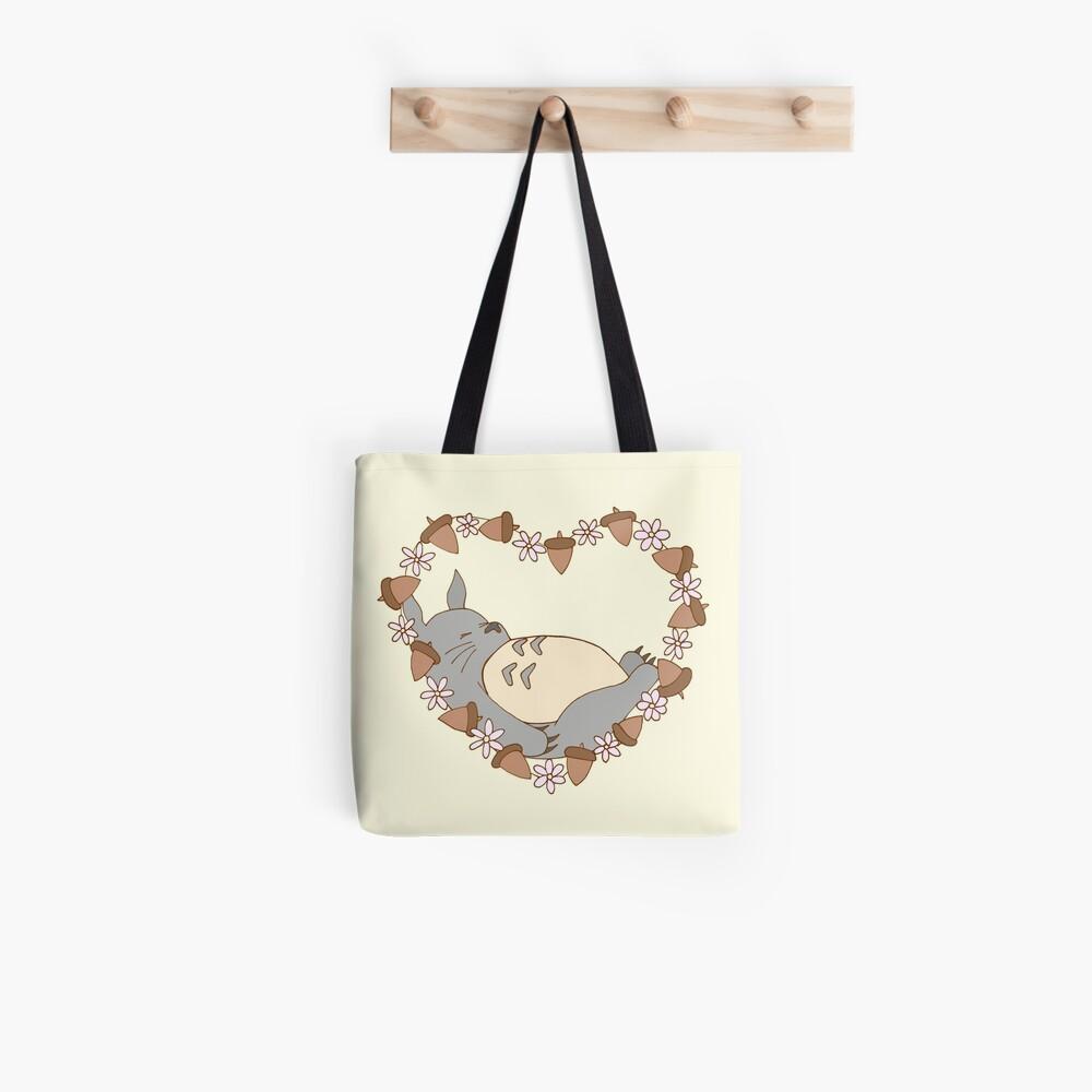Sleeping Totoro Tote Bag