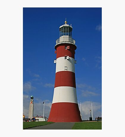 Smeaton's Tower, Plymouth Hoe Photographic Print