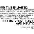 your time is limited - steve jobs by razvandrc