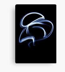 Blue Streak Canvas Print