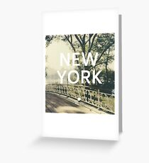 New York (New York) Greeting Card