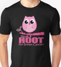 Give A Hoot Breast Unisex T-Shirt