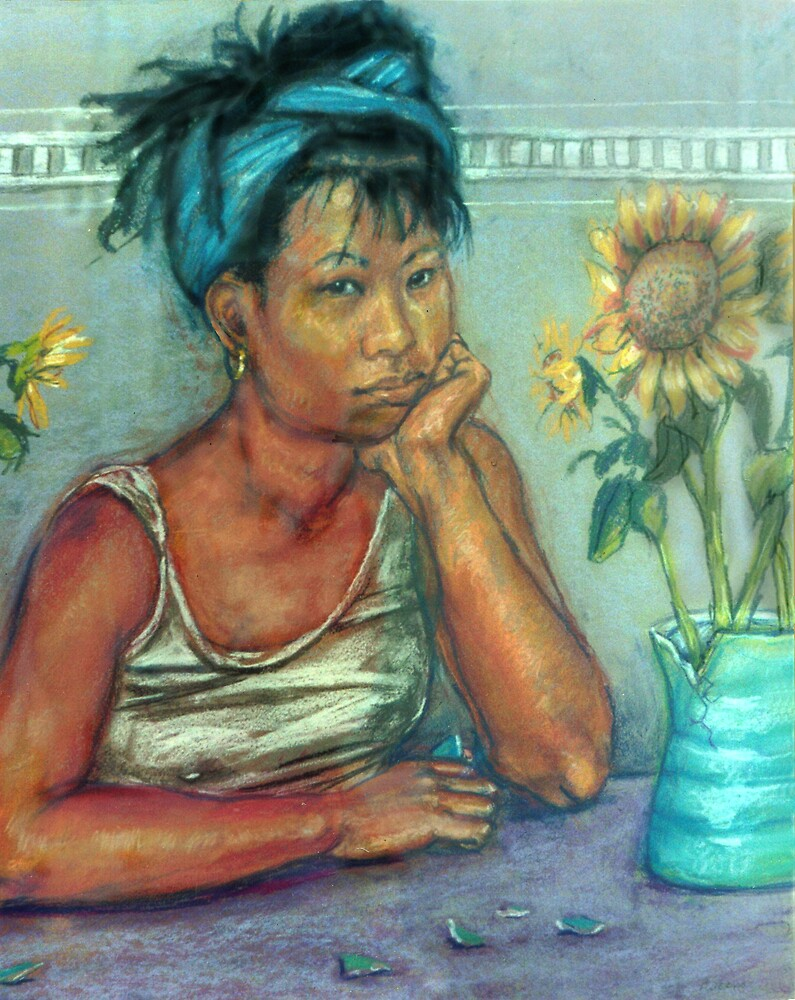 Girl with the Broken jug by Fiona O'Beirne
