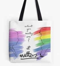 Johnlock LGBT pride (out version) Tote Bag