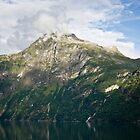 Fuming mountain by Dominika Aniola
